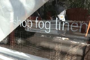 Shop Fog Linen store front